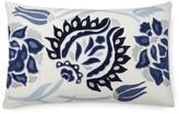 Williams-Sonoma Izlara Floral Applique Pillow Cover