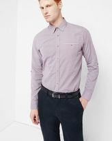 TWOSOFT Micro checked shirt