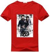 Ccttdiy Men's Teen Wolf T-shirts, Popular Teen Wolf Tee Shirts