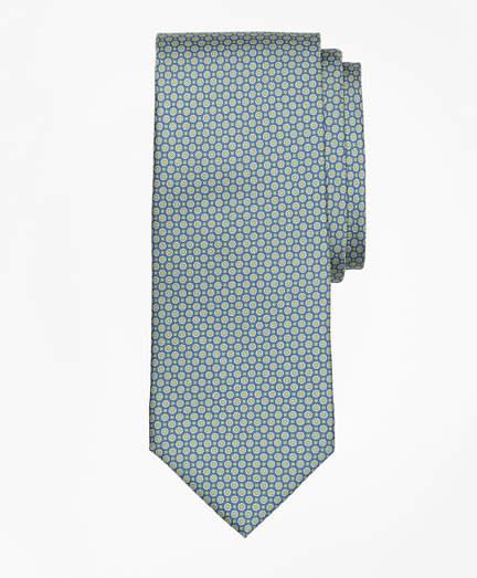 Brooks Brothers Mini Medallion Print Tie