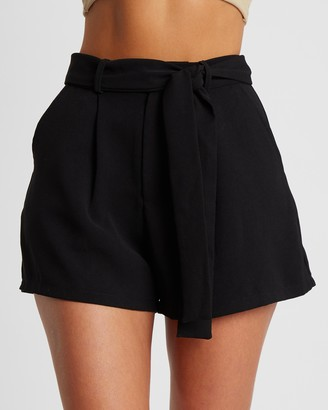Tussah - Women's Black High-Waisted - Soraya Shorts - Size 6 at The Iconic
