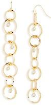 Aqua Michelle Drop Earrings - 100% Exclusive