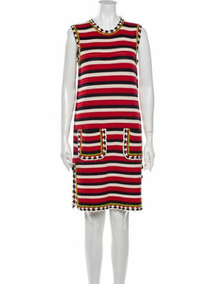 Gucci 2018 Knee-Length Dress w/ Tags Red