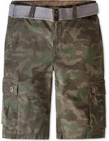 Large Univibe Big Boys Scout Cargo Shorts White X