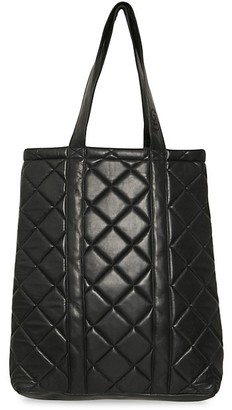 Gestuz Karon Quilted Leather Tote