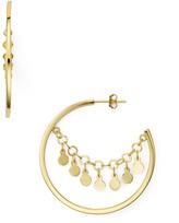 Argentovivo Carmen Disc Hoop Earrings