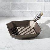 Crate & Barrel Finex Cast Iron Grill Pan