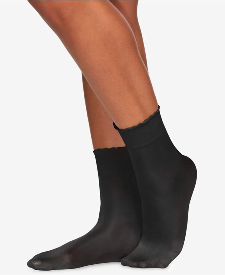 Berkshire Women Shimmer Opaque Anklet Socks 5116