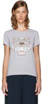 Kenzo - T-shirt gris Tiger édition li