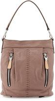 Oryany Marlene Leather Shoulder Bag, Mushroom