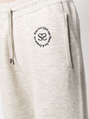 Sandro Embroidered-Logo Joggers