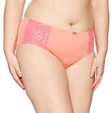 Olga Women's Plus Size Flirty Hipster Panty