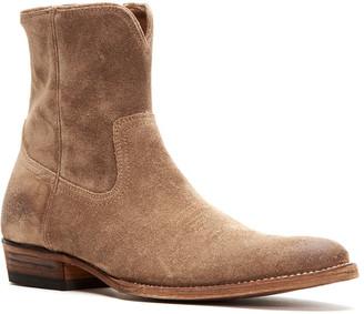 Frye Men's Austin Suede Inside Zip Boots