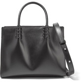 Tod's Lady Moc Mini Leather Tote - Black