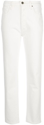 Gold Sign Benefit Straight Leg Jeans