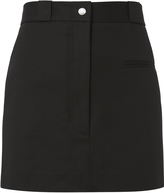 Helmut Lang Cotton Stretch Mini Skirt