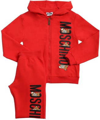 Moschino Cotton Blend Sweatshirt & Sweatpants