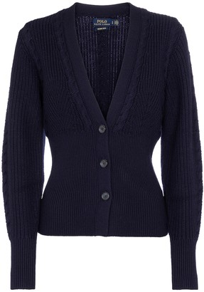 Polo Ralph Lauren Rib-knit wool cardigan