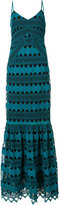 Zac Posen Sandra crochet gown - women - Polyester/polyester - 0