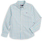 Vineyard Vines Toddler Boy's Ginger Island Check Woven Shirt