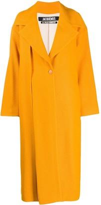 Jacquemus Le Manteau Quito maxi coat