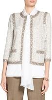 St. John Kira Tweed Knit Jacket