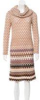 Missoni Cowl Neck Wool Dress
