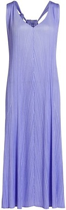 Pleats Please Issey Miyake Monthly Colors April Sleeveless Shift Dress
