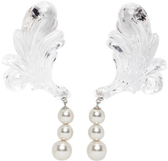 SHUSHU/TONG Transparent Pearl Earrings