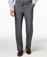 Alfani Traveler Grey Solid Slim-Fit Suit Pants, Created for Macy's