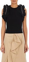 3.1 Phillip Lim Women's Ruffle Cotton-Blend Sleeveless Top