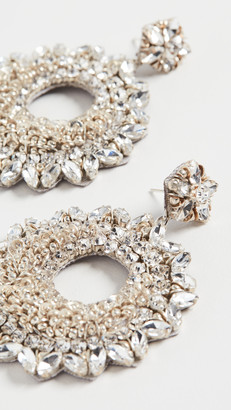 Deepa Gurnani Carter Earrings