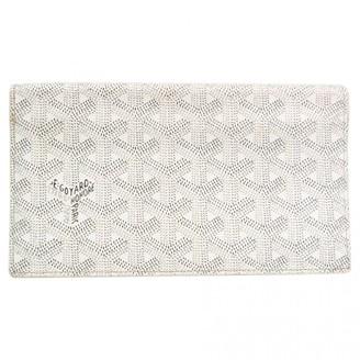 Goyard Richelieu White Leather Wallets