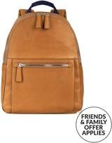 Hackett Men's Wilton Leather Backpack