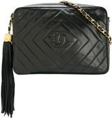 Chanel Pre Owned 1991-1994 CC fringe quilted shoulder bag