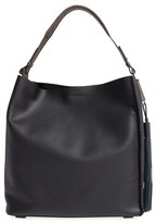 AllSaints 'Pearl' Leather Hobo - Black