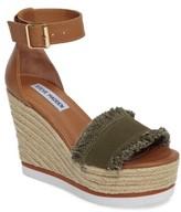 Steve Madden Women's Valley Fringed Platform Wedge Sandal
