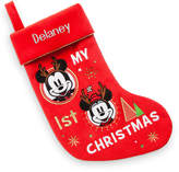 Disney Mouse ''My 1st'' Holiday Stocking - Personalizable