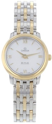 Omega De Ville Silver gold and steel Watches