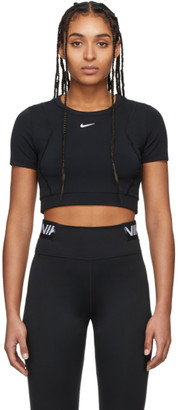 Nike Black Pro AeroAdapt Crop Top