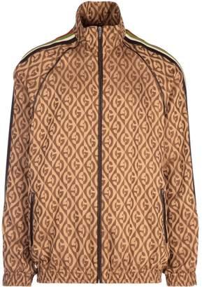 Gucci G Rhombus Oversized Zip-Up Jacket