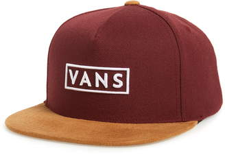 Vans Easy Box Snapback Baseball Cap