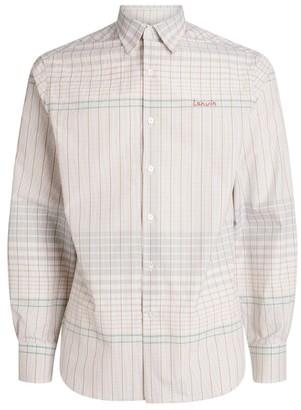 Lanvin Graph Print Shirt