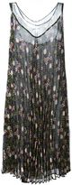 P.A.R.O.S.H. pleated floral print dress - women - Polyester - S