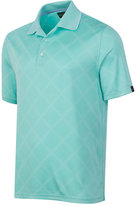 Greg Norman for Tasso Elba Men's Diamond Jacquard Performance Golf Polo