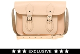"Cambridge Silversmiths Satchel Company Exclusive to Asos 11"" Leather Satchel"