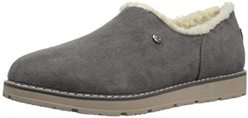 Skechers BOBS from Women's Bobs Alpine Black Diamond Cozy Slipper