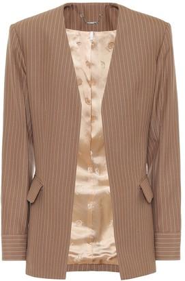 Chloé Pinstripe virgin wool blazer