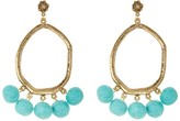 Yochi Shake your Pom Pom Earrings