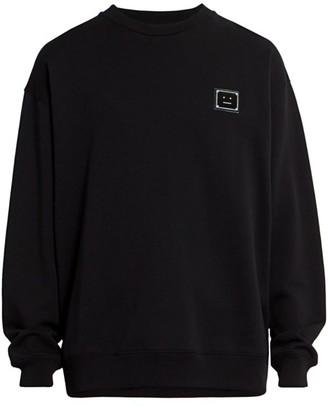 Acne Studios Forba Face Plaque Sweatshirt
